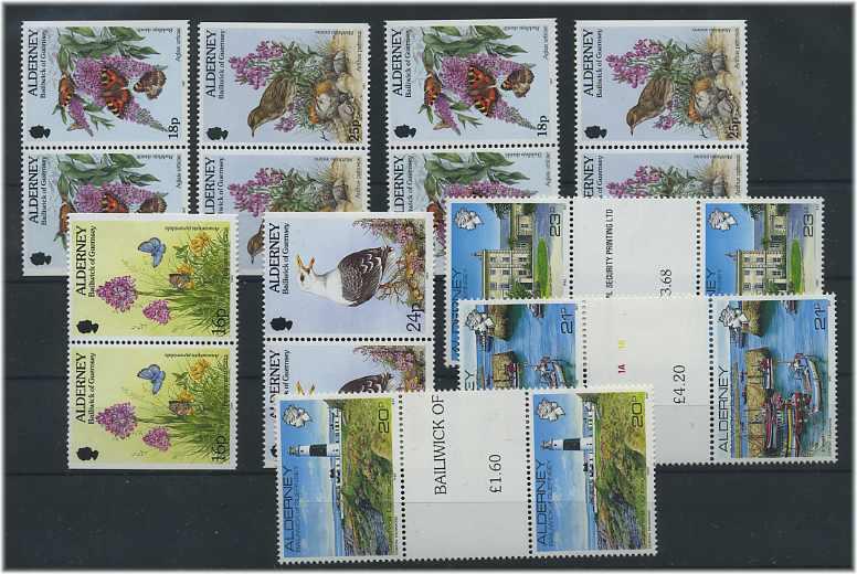Alderney Michelnummer Block 12 Postfrisch europa:9489 Großbritannien