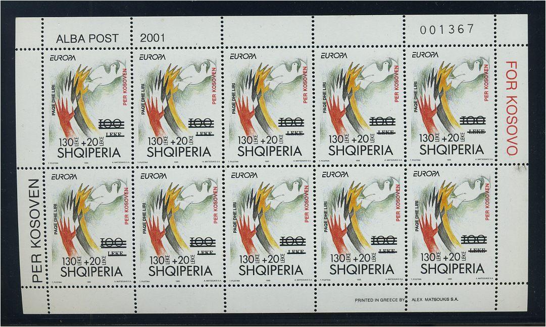 Novel In 91156 Albanien 2001 Nr 2785 Klbg Sauber Postfrisch Design;